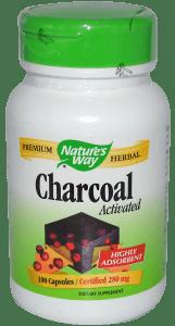 Активированный уголь в капсулах