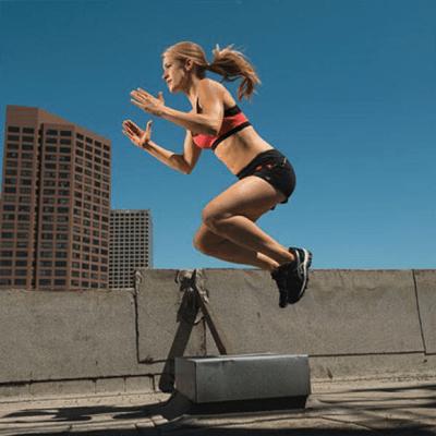 Прыжки через ящик