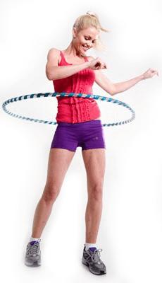 Правильная техника тренировки с обручем