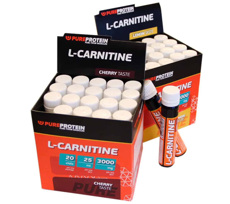Карнитин в ампулах — питьевых и инъекционных
