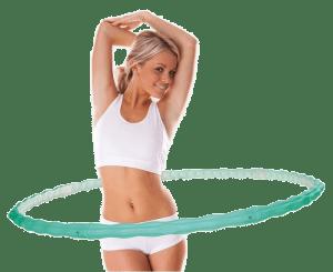 Правильно крутим обруч для снижения веса