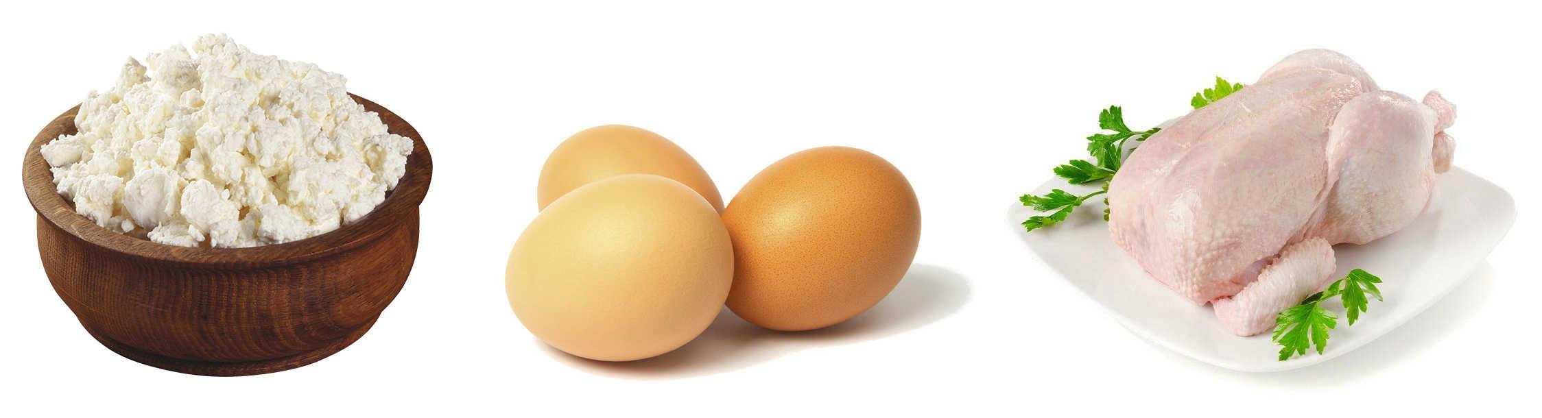 Медленные белки для набора массы