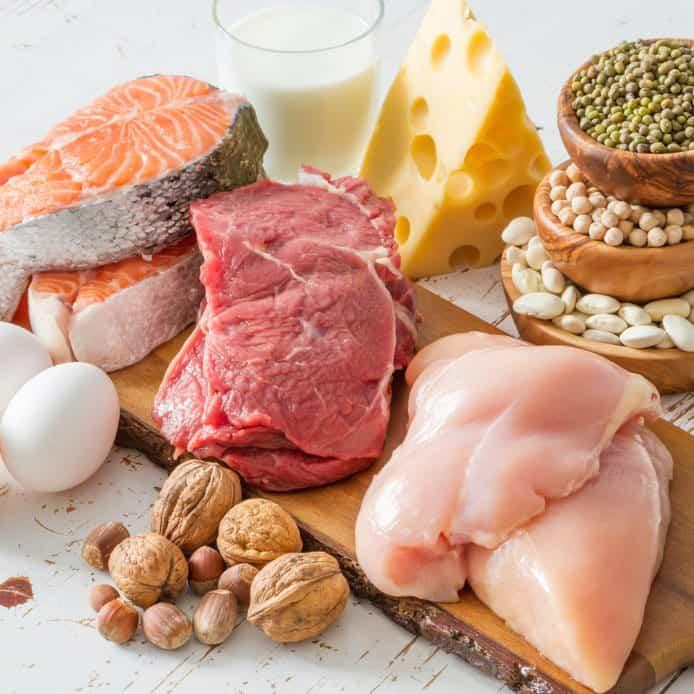 Соотношение БЖУ для программы питания на массу