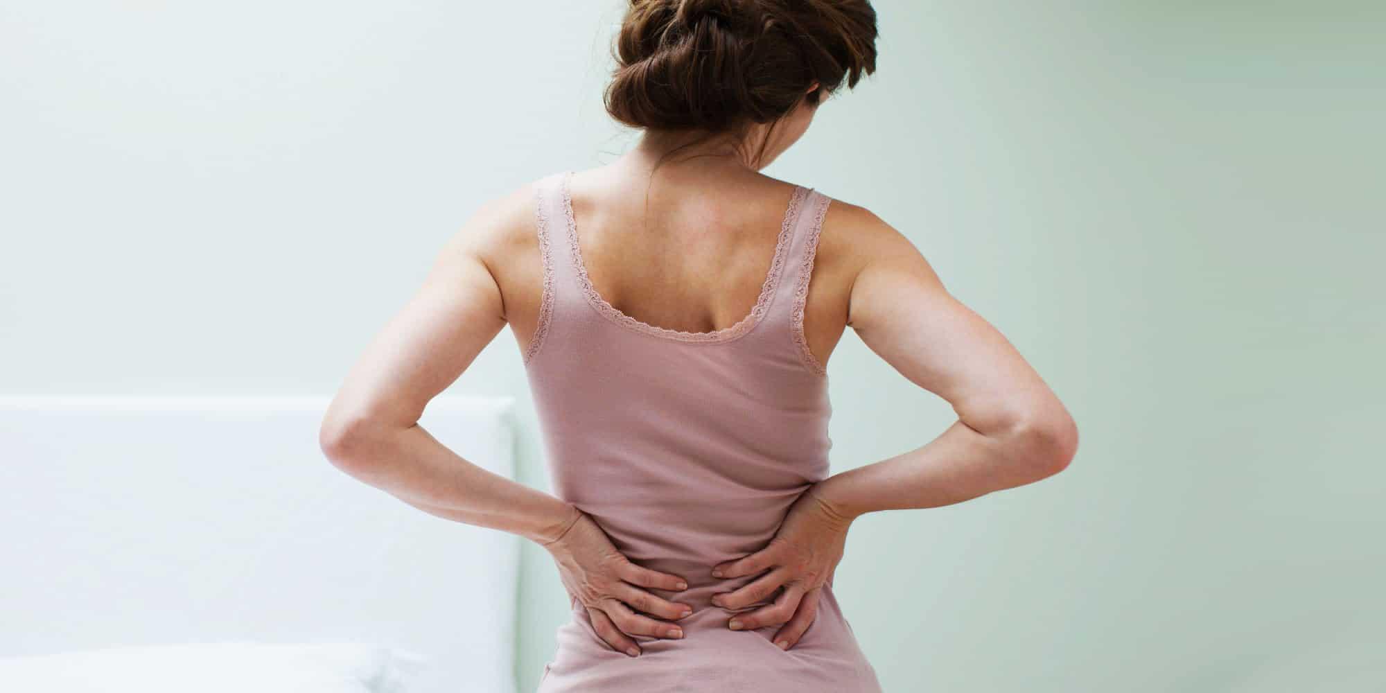 Дискомфорт в спине