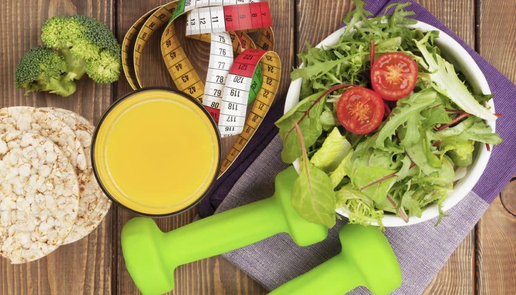 Меню сушки тела: питание для девушек на неделю и месяц