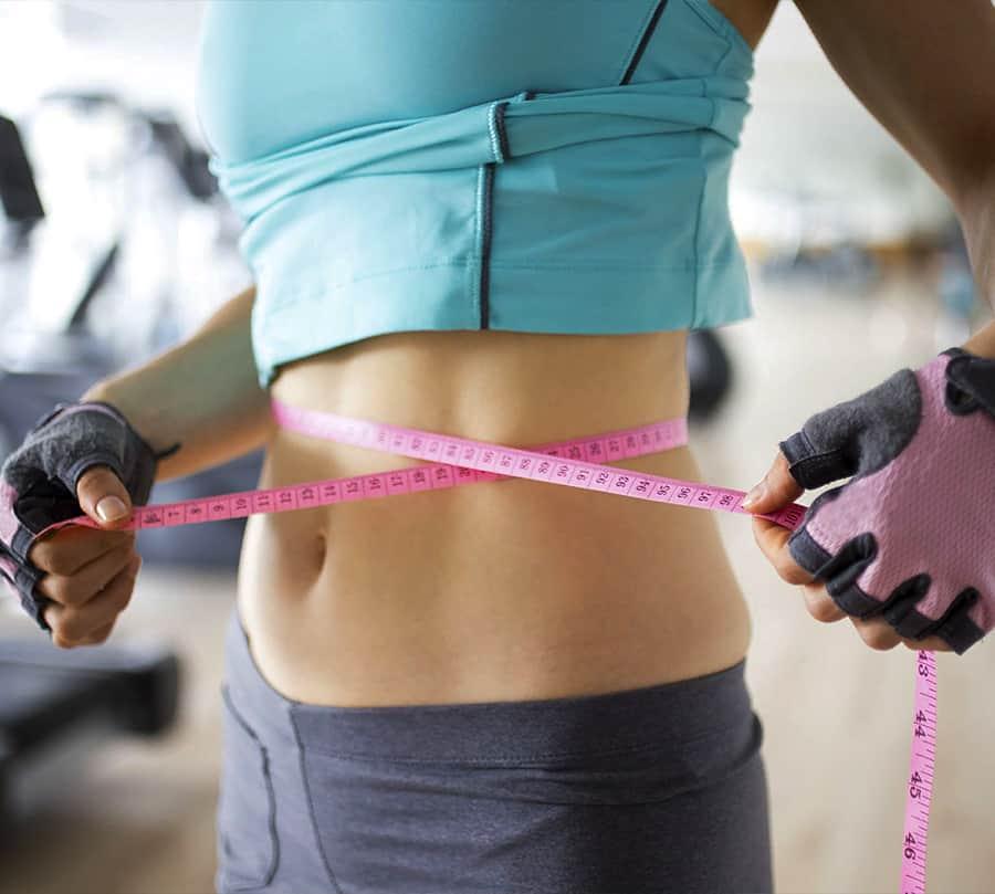 Различия между сушкой и похудением