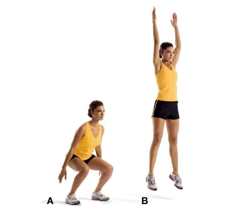 Прыжковое упражнение «Лягушка»