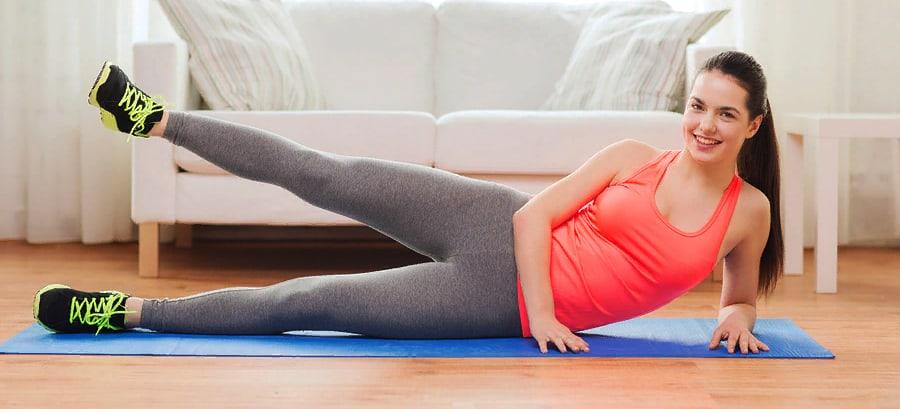 Физическая нагрузка для похудения ног