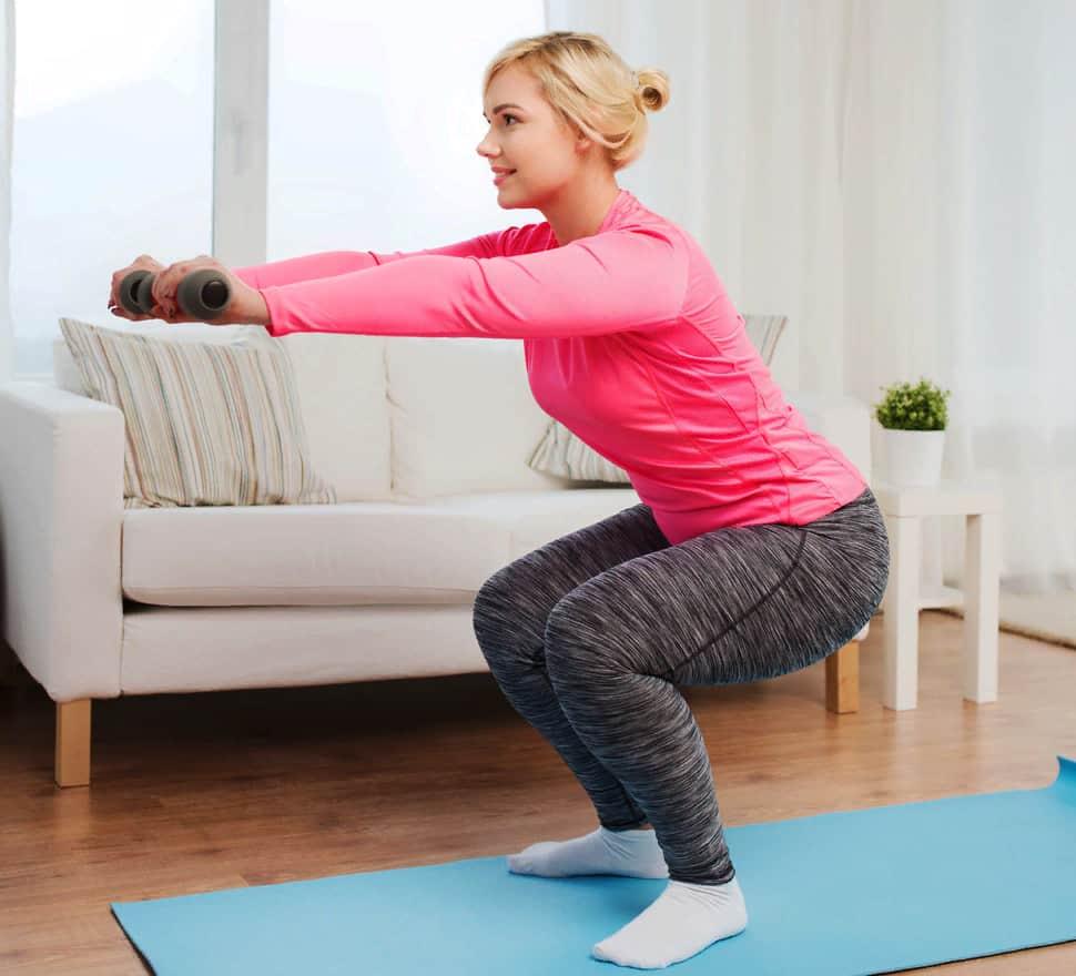 Упражнения для похудения ног дома