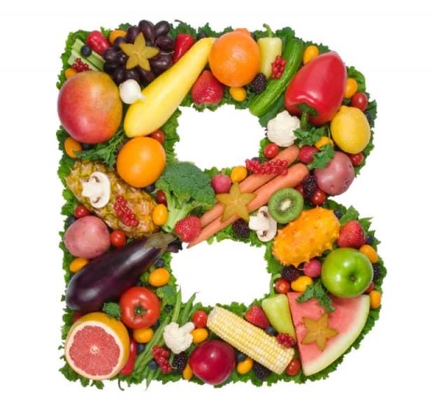 Содержание витамина В в продуктах питания