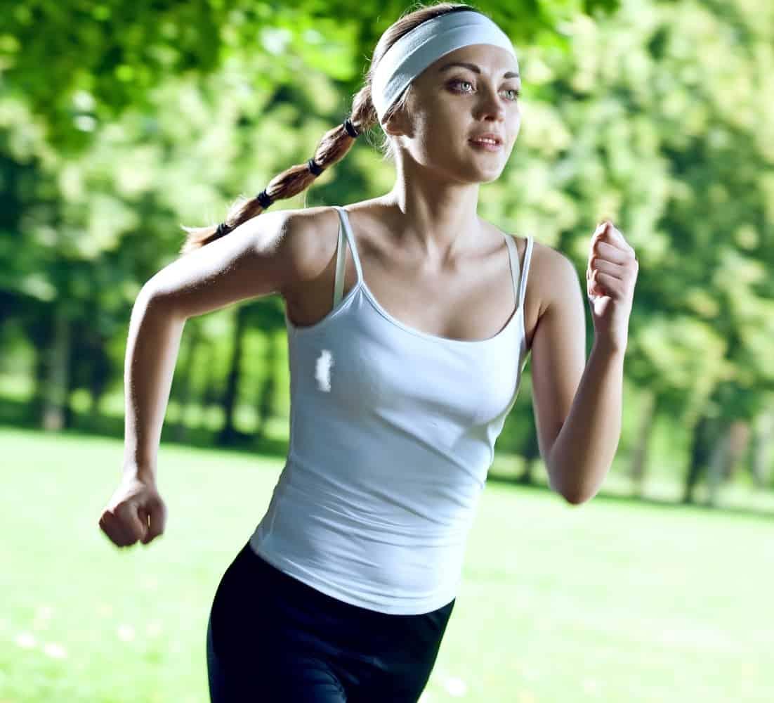 Как бег сжигает вес