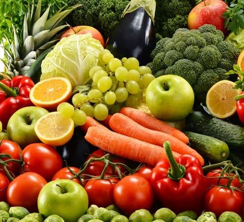 Фрукты и овощи в ПП