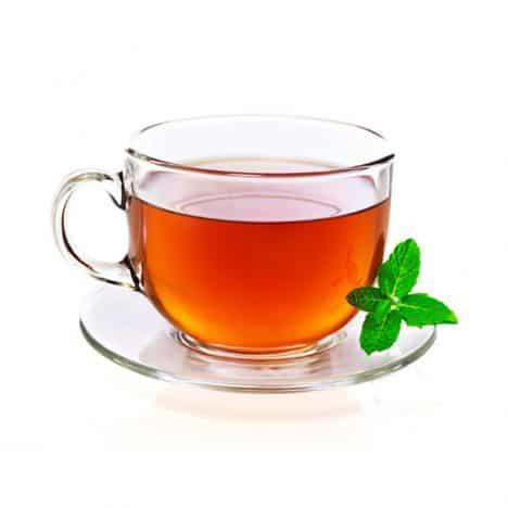 Чай с липой и мятой