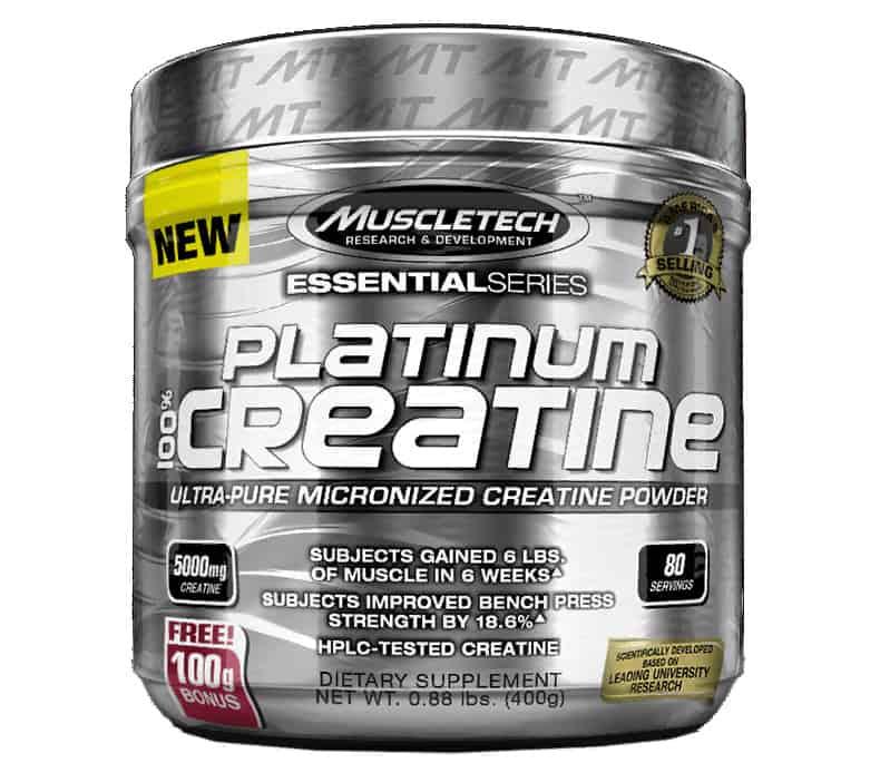 100% creatine от MuscleTech Рlatinum