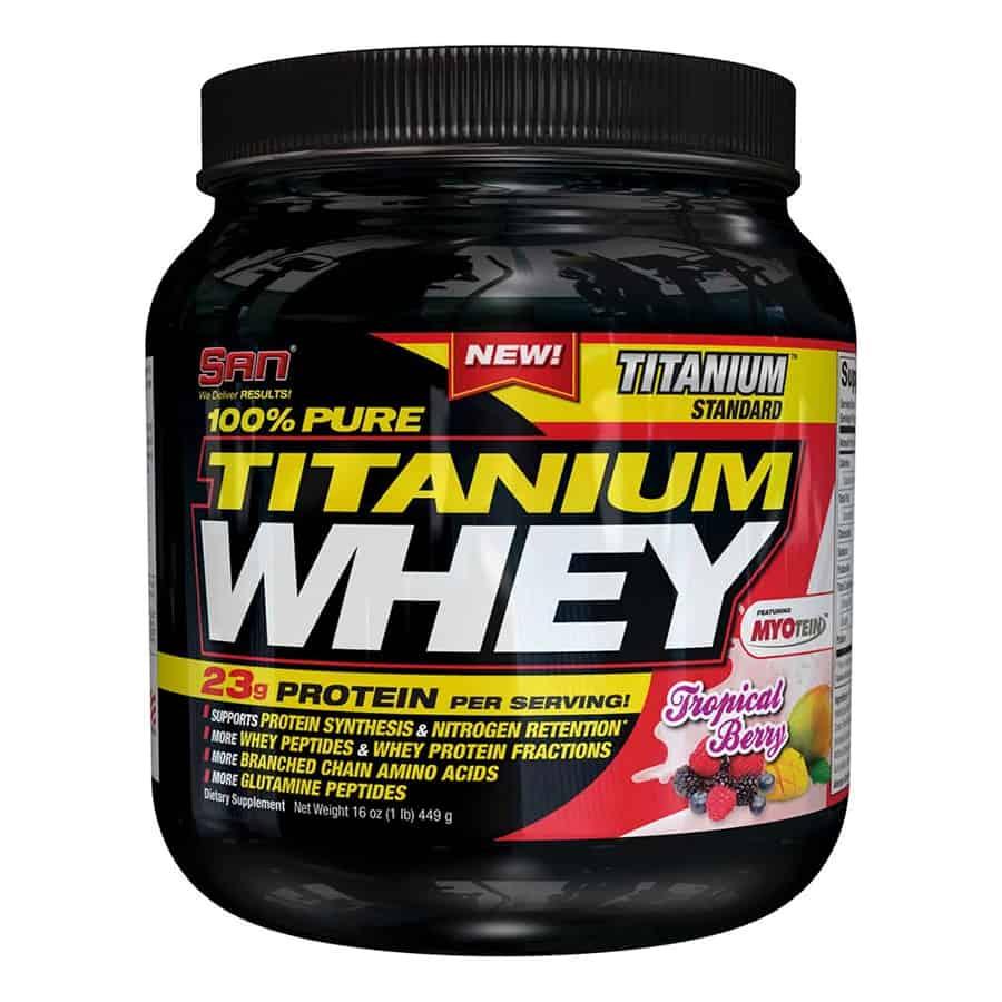 Pure Titanium Whey 100% от SAN