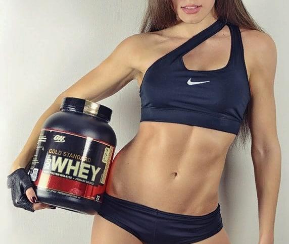 Протеин для девушек