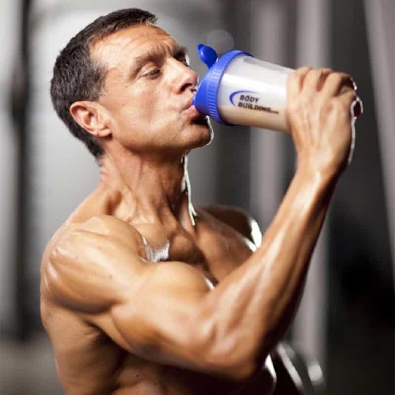 Когда лучше принимать протеин