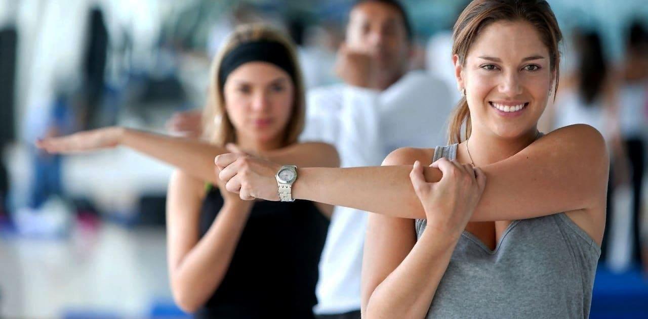 Упражнения основной разминки