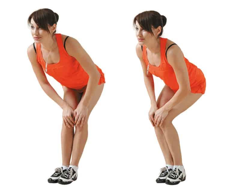 Вращательные движения коленями
