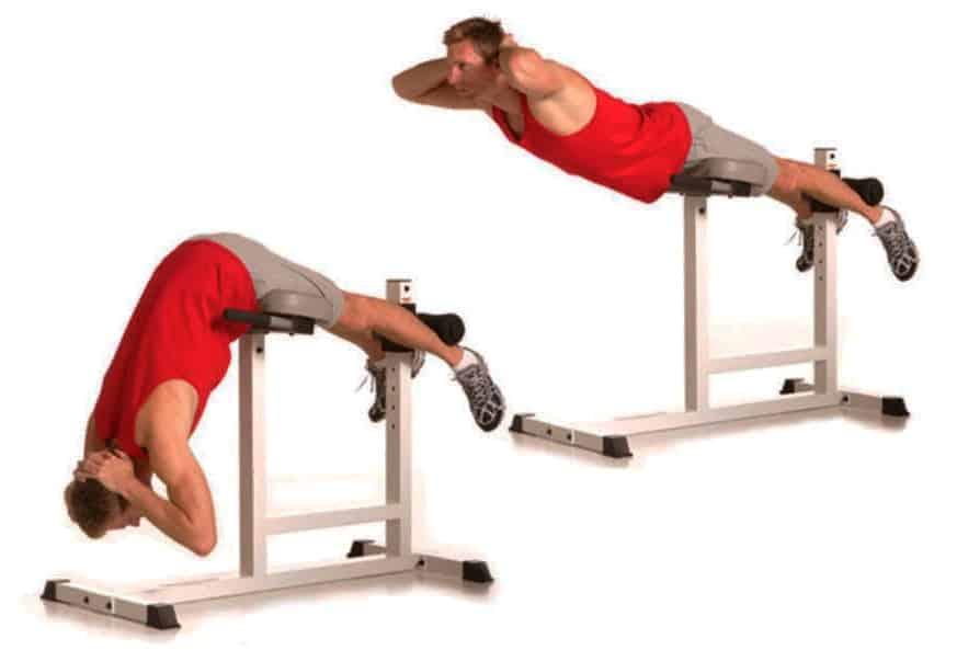 Комплекс для мышц спины и живота